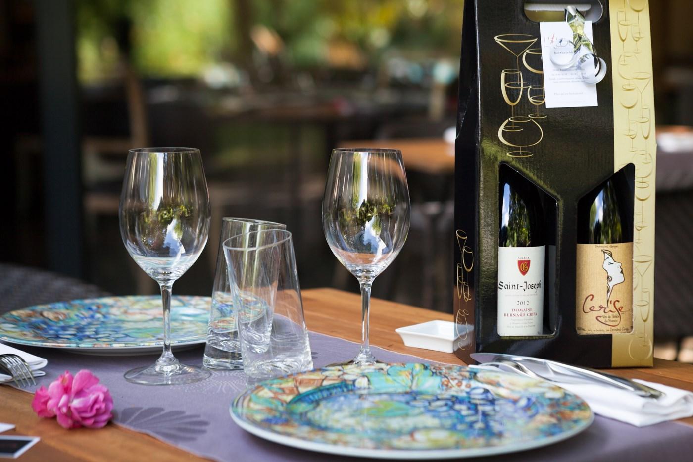 Belle table restaurant gastronomique de l'Alouette