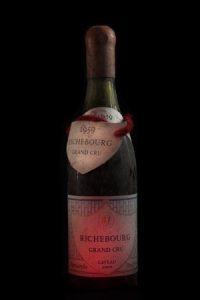 Découvrez notre cave des vins avec des bouteilles grands millésimes